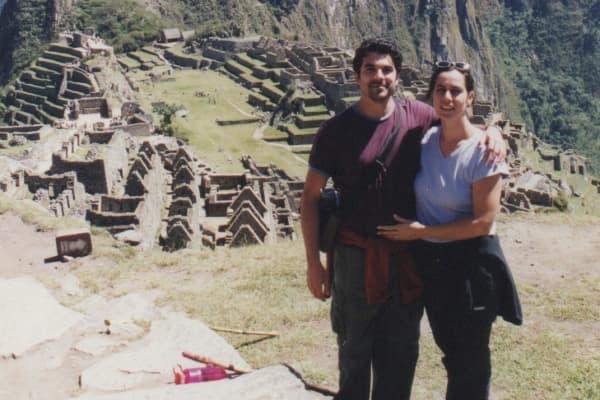 Chanel Reynolds and her husband, Jose Hernando