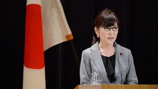 Tomomi Inada, a key advisor to Japanese Prime Minister Shinzo Abe.