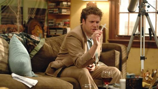 "Seth Rogen in ""Pineapple Express"""