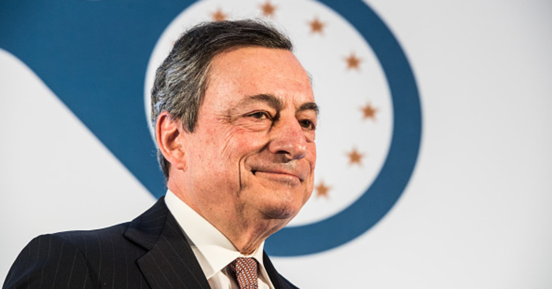 Banks in Europe are unexpectedly rallying after Draghi's comments. Here's why