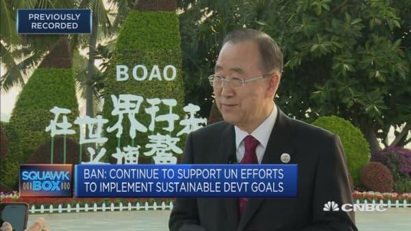 Ban Ki-moon on the UN's sustainable development goals