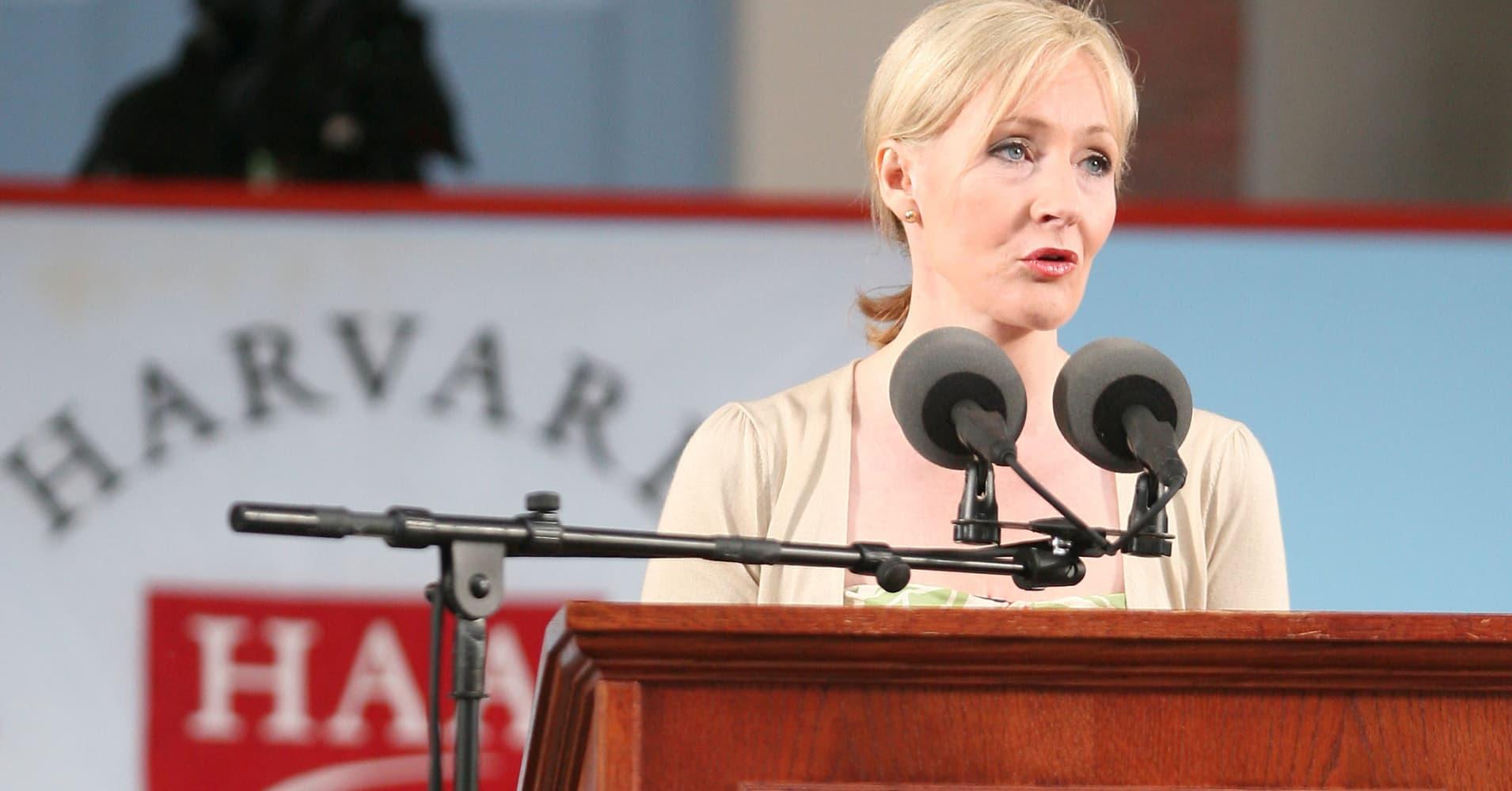 J.K. Rowling's greatest advice to Harvard grads is disturbingly dark—but honestly, so brilliant and true