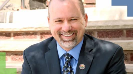Trevor Wilkins, mayor of Newburgh Heights
