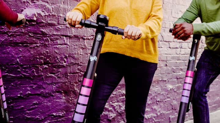Lyft has invested in other modes of transit including scooters and bike-sharing.