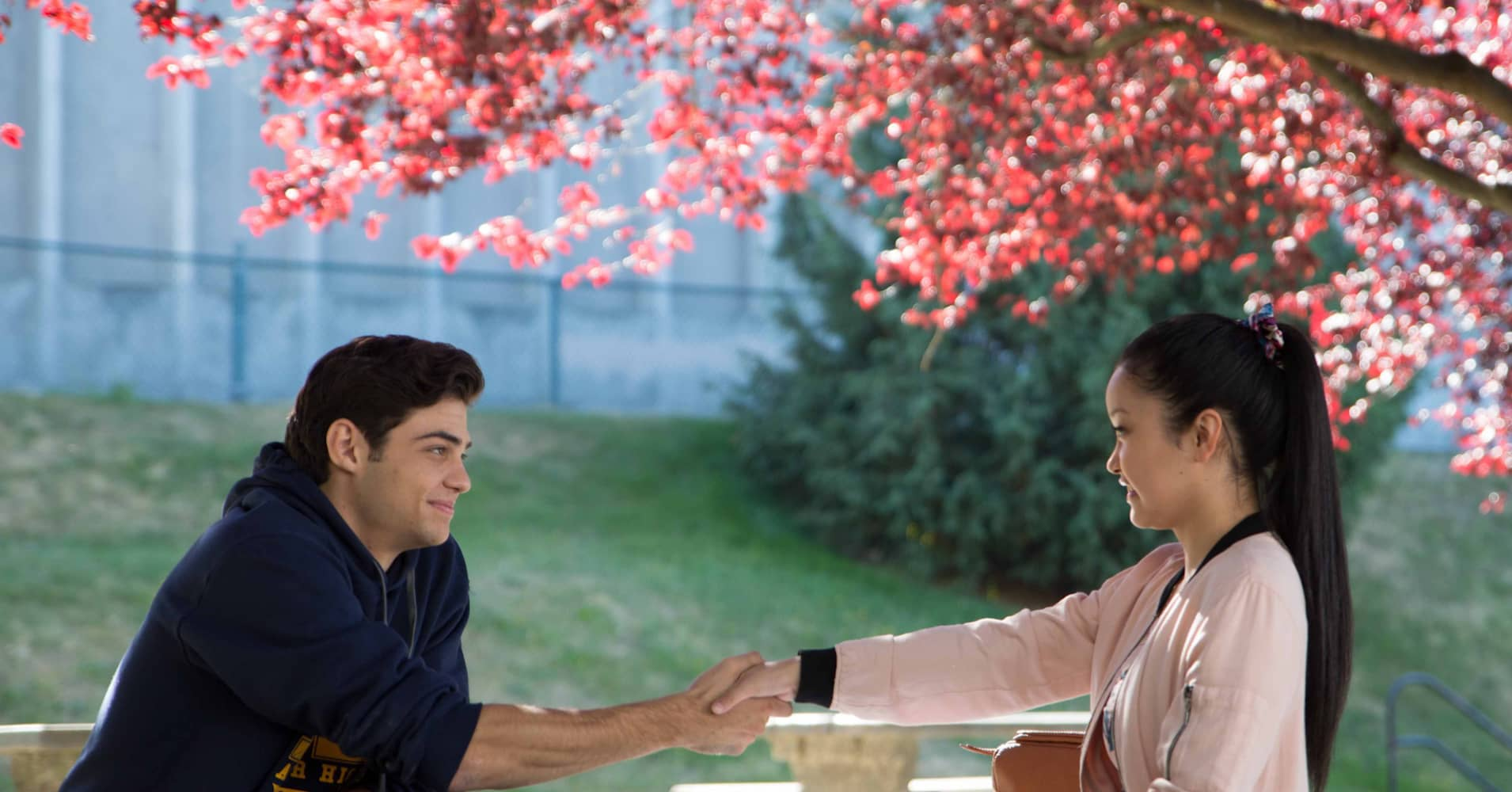 Here's what Lana Condor and Noah Centineo learned from each other while filming 'To All the Boys I've Loved Before'