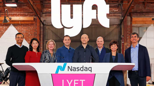 Lyft just had a lousy day but that's its own problem, not the stock market's | CNBC