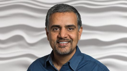 Keerti Melkote, President & Founder Aruba (a Hewlett Packard Enterprise Company).