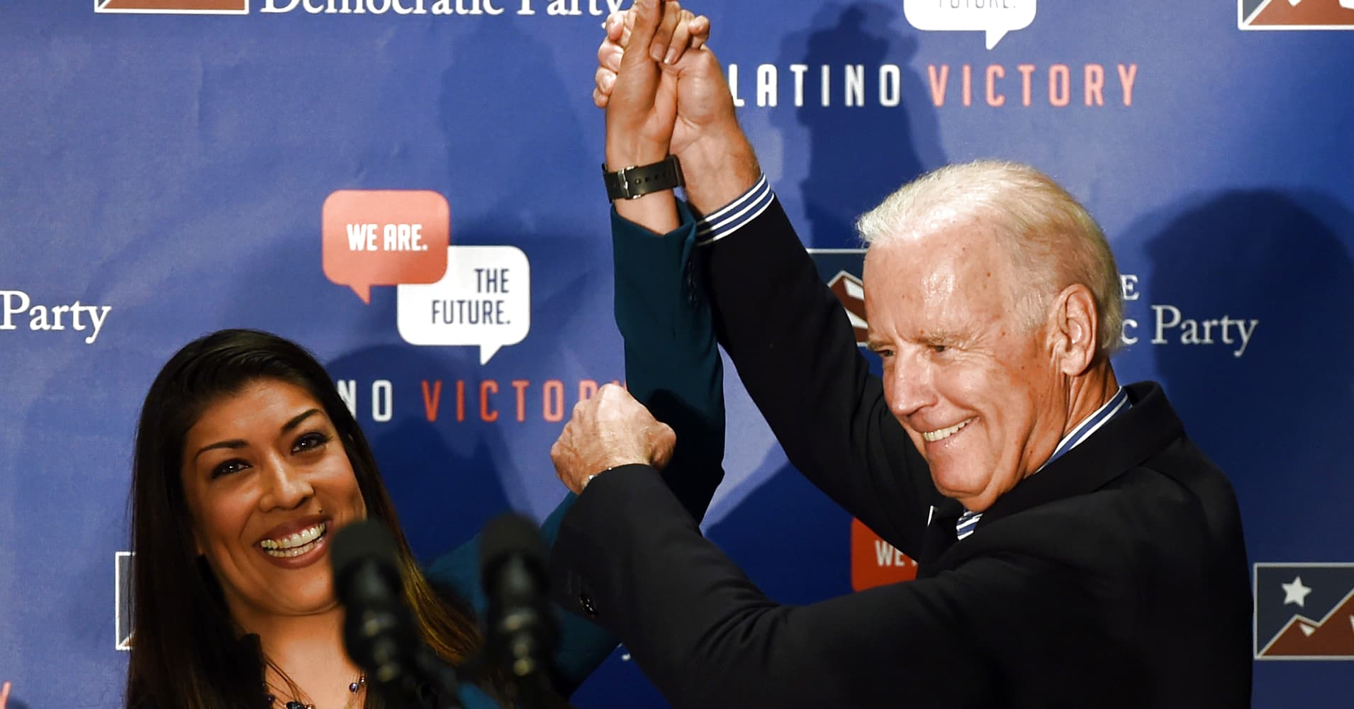 Joe Biden responds to kiss accusation: 'Never did I believe I acted inappropriately'