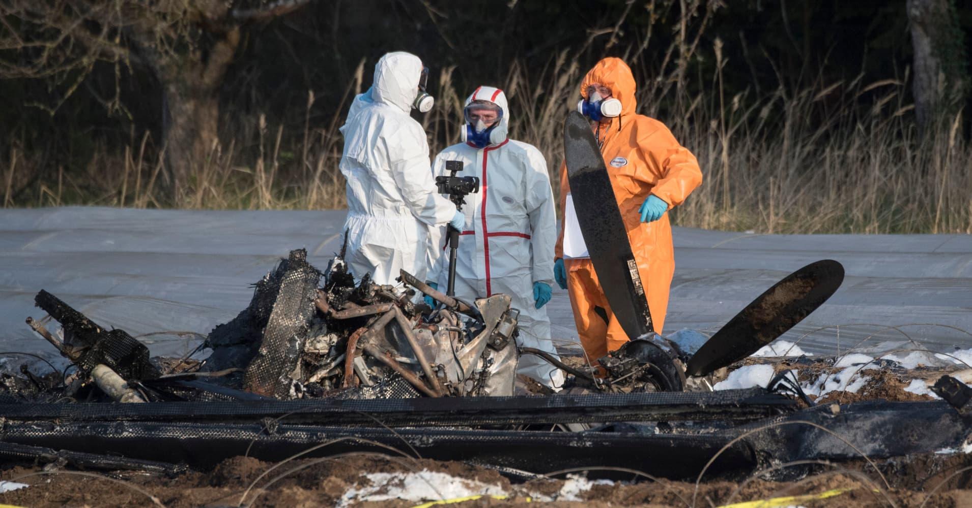 Co-owner of Russia's S7 airline dies in plane crash near Frankfurt