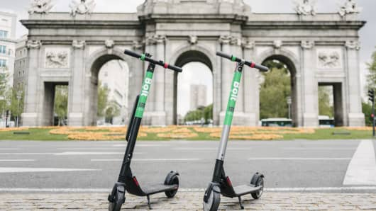 Bolt is launching its electric scooter service in Madrid, following a rollout last year in Paris.