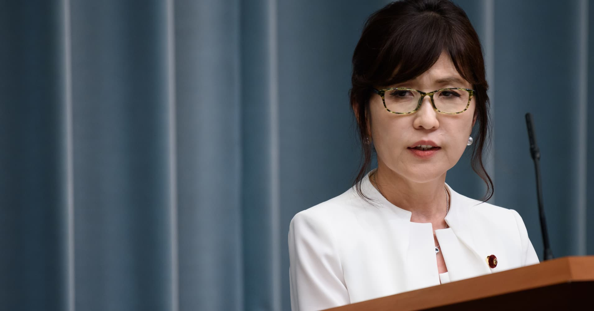 Meet the woman hoping to succeed Japanese Prime Minister Shinzo Abe