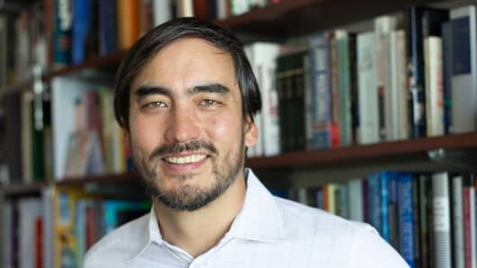 Tim Wu, Julius Silver Professor of Law, Science and Technology at Columbia Law School.