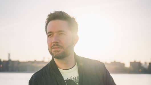 Alexis Ohanian, Co-founder and Managing Partner Initialized Capital & Co-founder Reddit.