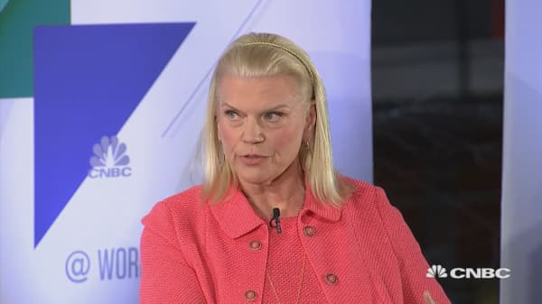 Ginni Rometty on the future of work