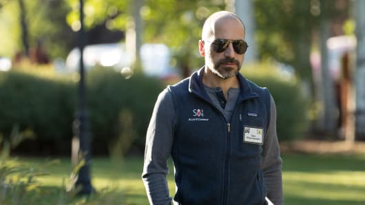 Dara Khosrowshahi, now CEO of Uber, on July 7, 2016 in Sun Valley, Idaho