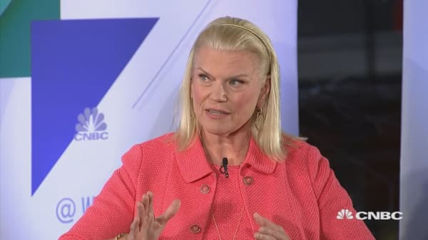 A Conversation with Ginni Rometty at CNBC @Work Summit