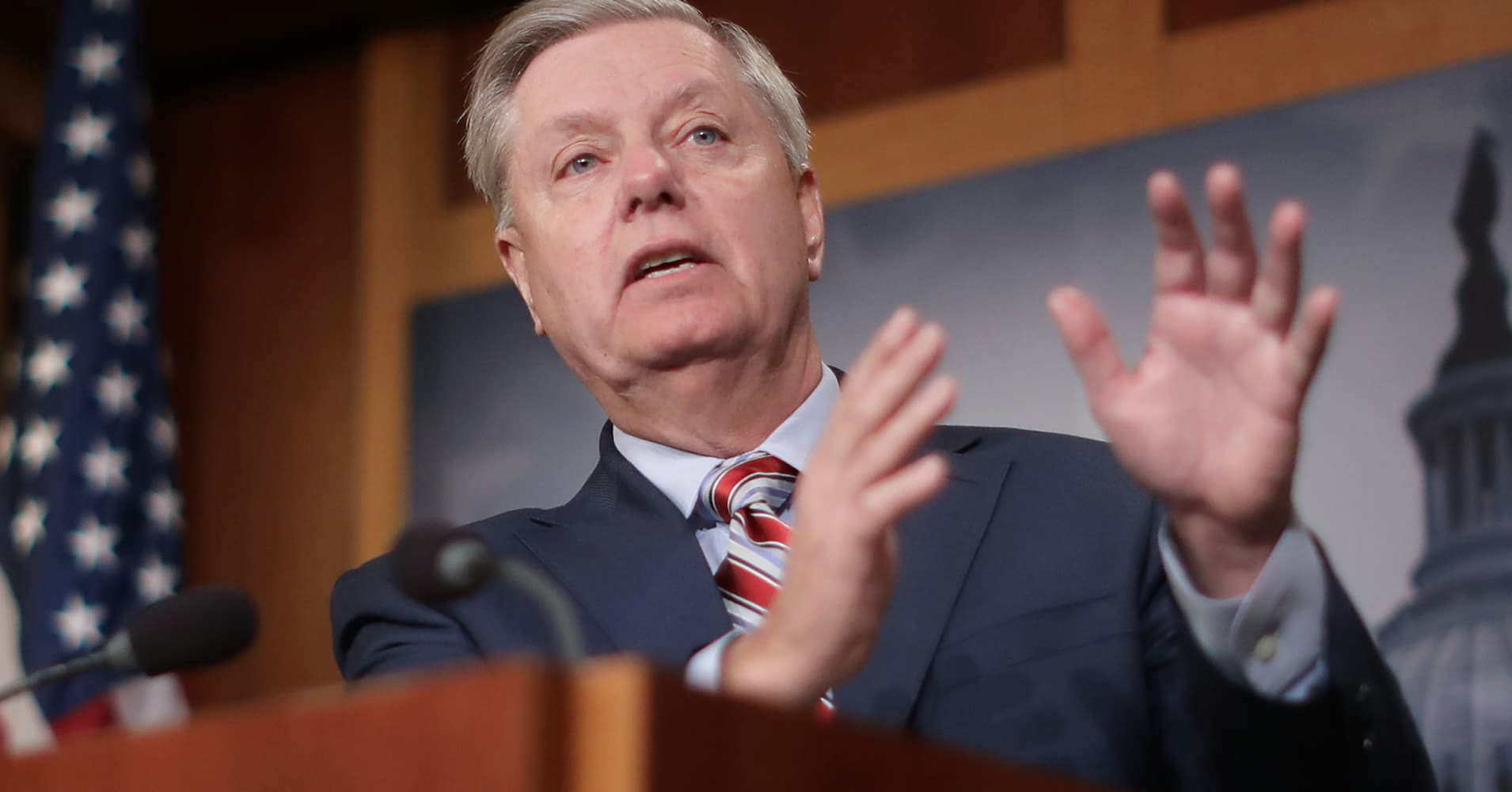 Lindsey Graham: Trump should release his tax returns