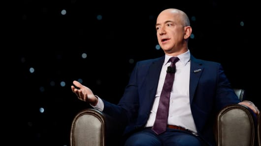 Jeff Bezos, founder of the space company Blue Origin, talks about the future of space travel.