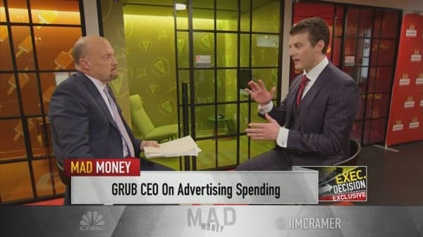 GrubHub CEO: We're willing to spend aggressively on the future to beat our competitors