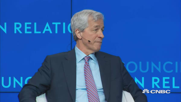Dimon: Better off dealing with serious China issues now