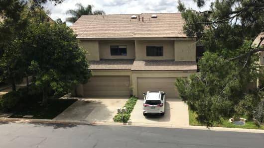 Greg Hart's home in Thousand Oaks, California