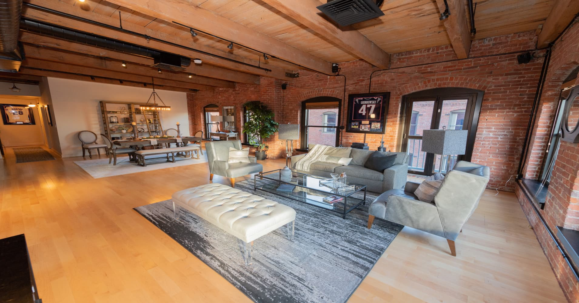 Rob 'Gronk' Gronkowski just sold his Boston penthouse for $2.3 million — take a look inside