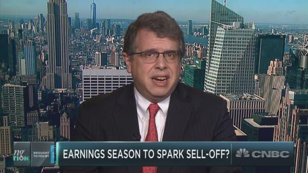 Wall Street will likely see worst earnings season in three years, Nick Colas warns