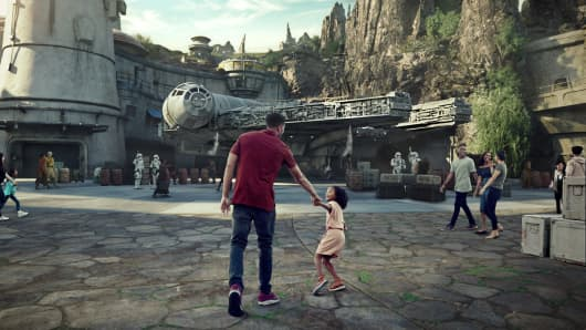 Star Wars: Galaxy's Edge land at Disneyland