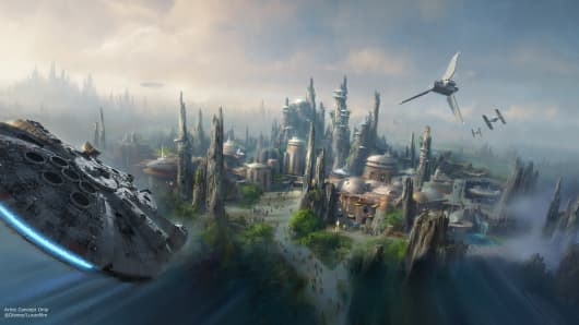 Star Wars: Galaxy's Edge land at Disneyland