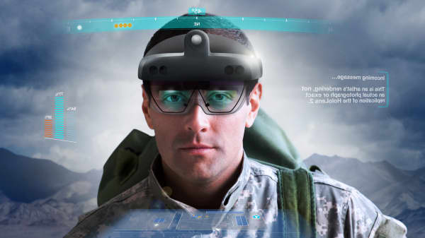 How the Army plans to use Microsoft's high-tech HoloLens goggles on the battlefield