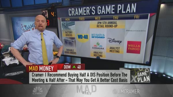 Cramer's game plan: The March jobs number was enough to dim recession worries