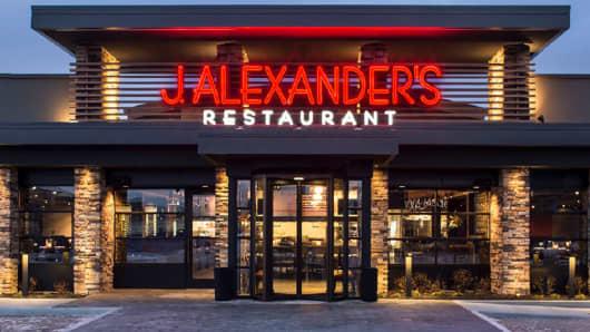 A J.Alexander's restaurant in Boca Raton, Fla.