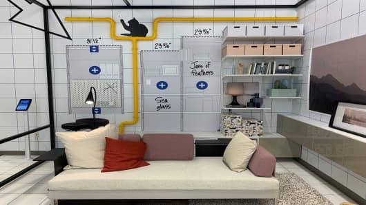 Ikea is opening a small-format store in New York. Here\'s a look inside