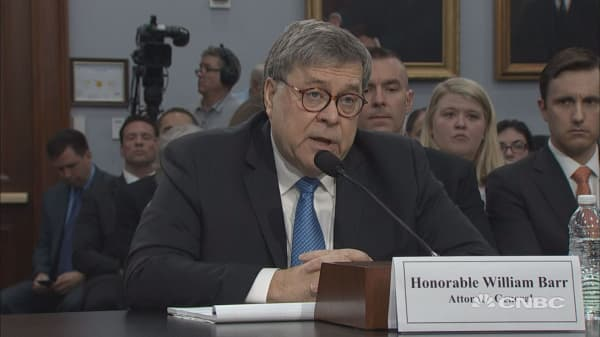 Attorney General Barr says he plans to release a redacted version of the Mueller report within a week