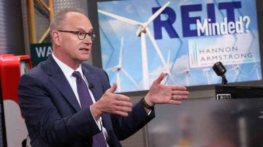 Jeffrey Eckel, CEO, Hannon Armstrong