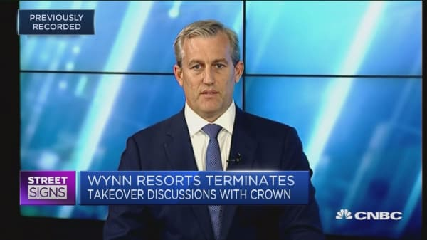 Crown, Wynn Resorts deal will happen 'eventually': Shaw and Partners