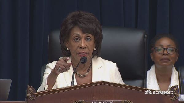 Steven Mnuchin clashes with Maxine Waters during his congressional testimony