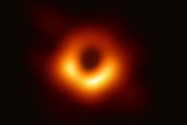 The Event Horizon Telescope (EHT) -- a planet-scale array of eight ground-based radio telescopes forged through international collaboration -- was designed to capture images of a black hole.