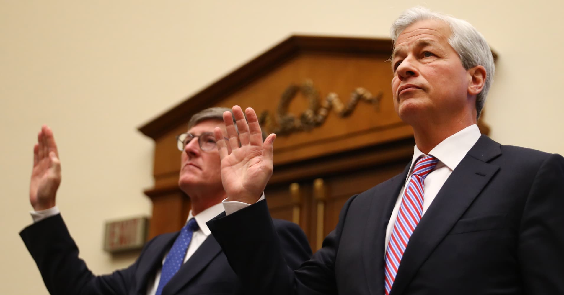 Here's what Jamie Dimon and other bank CEOs said are the biggest risks to the economy right now