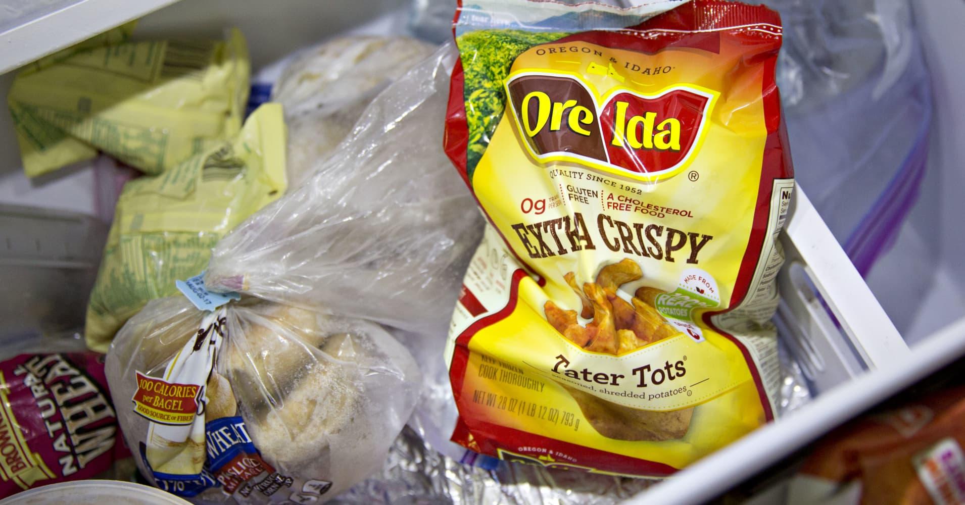 Kraft Heinz weighs sale of Ore-Ida frozen potato business