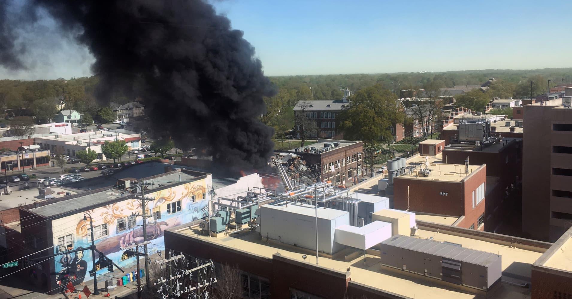 1 dead, 15 injured in North Carolina gas explosion