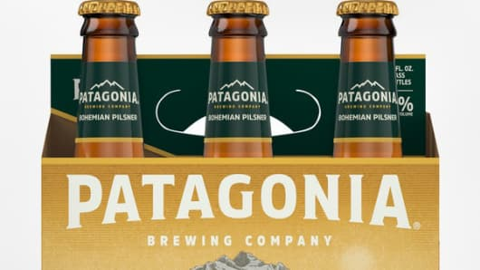 Patagonia sues Budweiser's parent for its 'copycat' beer brand