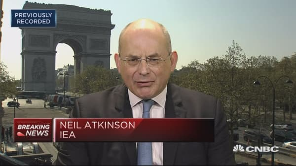 IEA's Atkinson: