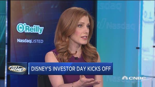 Disney's investor meeting kicks off