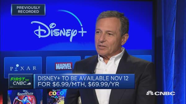 Bob Iger: I believe Disney+ will be a success