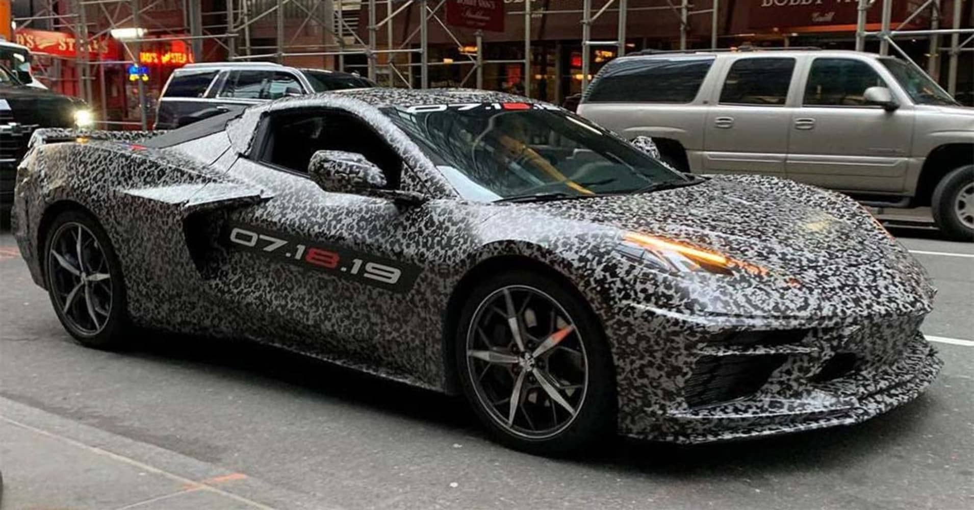 GM hints at 2020 Chevy Corvette C8 to take on luxury ...
