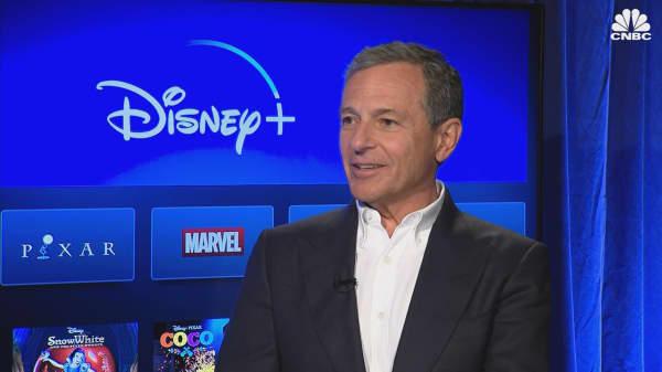 Disney CEO Bob Iger on how technology drives consumer behavior