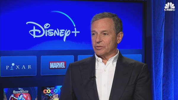 Disney CEO Bob Iger on Netflix and the Fox deal