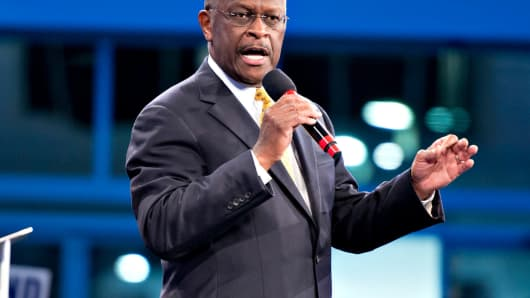 Herman Cain withdraws from consideration for Fed board, Trump says