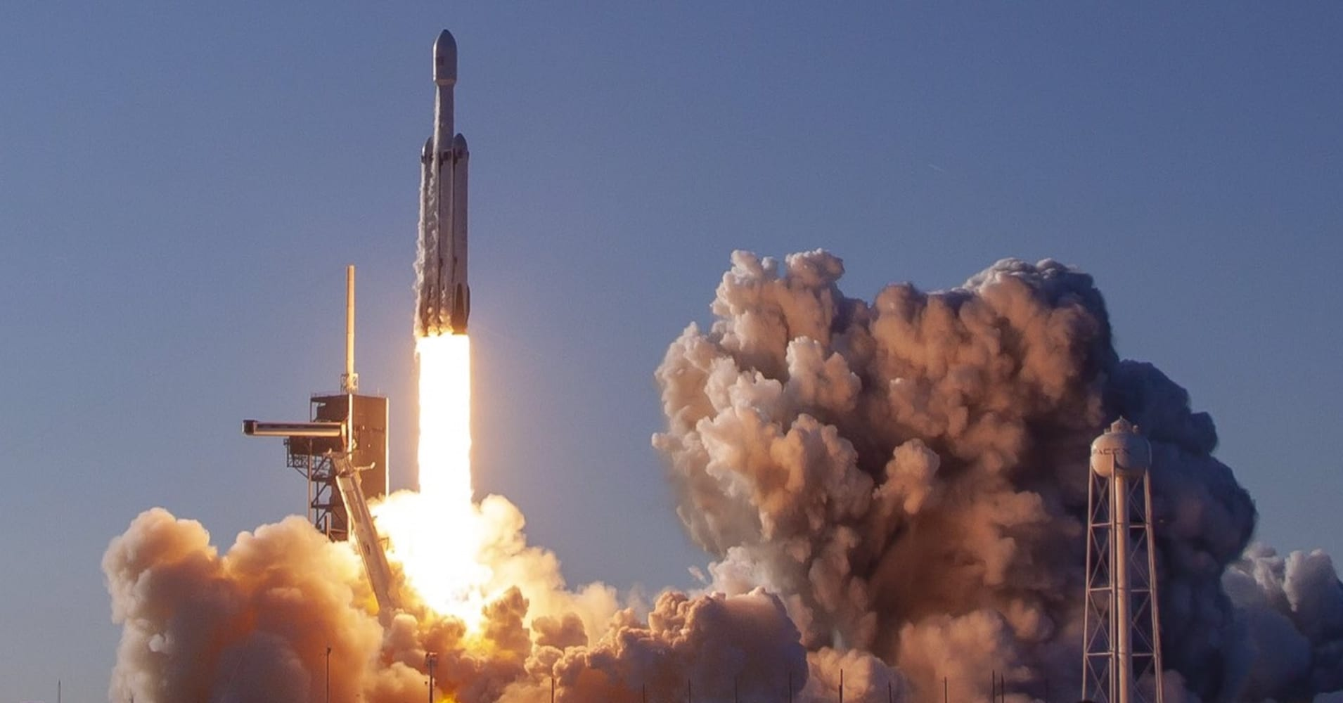 Falcon Heavy's first commercial flight is 'huge' as 'an inflection point' for SpaceX, banker says